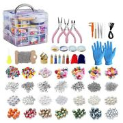 10x2456 Pieces Of Jewelry Making Kit Jewelry Making Tool Kit With Jewelry Beads