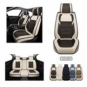 Fabric Wool Like Cloth Car Seat Covers Linen Automotive Vehicle Cushion Cover