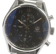Tag Heuer Carrera Car2014-4 Chronograph Navy Dial Automatic Menand039s Watch_605420