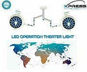 Led Surgical Light Dual Dome Operation Theater Light For Veterinary Ot Surgery