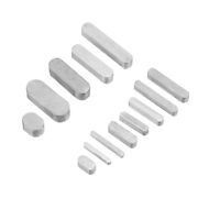 2pc Car Suv Seat Belt Buckle Clip Silicone Anti-scratch Cover Safety Accessories