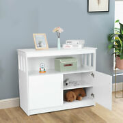 Modern Kitchen Storage Cabinet Buffet Server Double Door Table Sideboard Dining