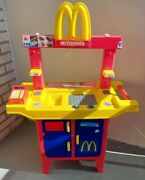 Vtg Mcdonalds Fast Food Drive Thru Play Set Toy Working Sounds Htf Incomplete