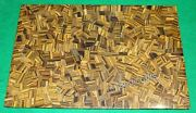 30 X 48 Inches Tiger Eye Stone Living Room Table Top Random Art Dining Table Top