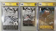 Redneck 1 | Gold Silver And Ashcan | Cgc 9.8 | Signed By Cates | Image 2017