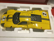 Gmp 1/12 Ford Gt40 Mark Iv Diecast Gmp Ref 12074 Limited Edition Of 500