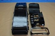 2014 W218 Mercedes Cls63 Amg Center Console Trim And Storage Bin Assembly Black