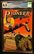 Pioneer Picture Stories 6 Classic Wwii Gory Cover Higher Grade Nice Cgc 6.5