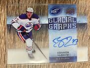 Connor Mcdavid 2015-16 Upper Deck Ice Glacial Graphs Gg-cm Rookie