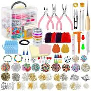 20xjewelry Making Kit For Complete Bracelet Making Supplies Tool With Sturdy
