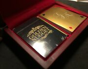 Golden Nugget Last Edition Sealed Poker Playing Cards Casino Promo Wood Box Set