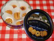 Faux Food Realistic Danish Butter Cookies In Cookie Tin Play Food Treats 8x Lot