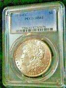 1891-cc Morgan Silver Dollar - Pcgs Ms61 Great Coin