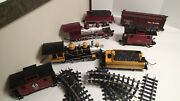 Bachmann G Scale Trains Parts Lots Locomotives Cabooses Box Cars Track