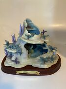 Wdcc Ariel's Secret Grotto - Enchanted Places In Original Box With Coa