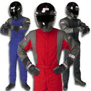 G-force Racing Suit Gf 745 Two Layer 1-piece Sfi 3.2a/5 Rated