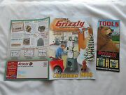 Grizzly Industrial Christmas 2003 Magazine-tools-kits-milling Machines