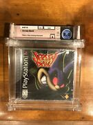 Jersey Devil Playstation Ps1 New And Sealed Graded Wata 8.0 / A