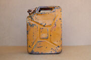 Old Vintage German Military Wehrmacht Jerry Can Gas Fuel Container Wwii Ww2 1943