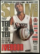 Slam April 2004 10th Anniversary Iverson Garnett Shaq Kobe Lebron