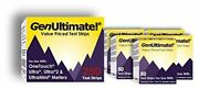 Genultimate Blood Glucose Test Strips 250 Count For Use With One Touch Ultra, Ul