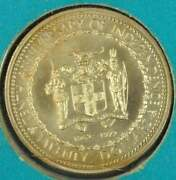 1972 Jamaica 20 Dollar Gold Coin Icg Ms-68 10th Anniversary Of Independence
