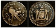 1979 Belize One Dollar - Sterling Silver Proof Very Rare