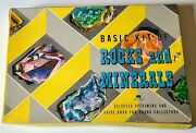 Basic Kit If Rocks And Minerals 1956 Harvey House Specimens And Guide Book