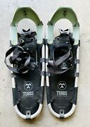 Tubbs Aurora Snowshoes Green Made In Usa 25andrdquo X 8andrdquo