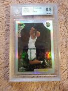 1998-99 Topps Chrome Refractor Paul Pierce. Rc 135 Bgs 8.5 High End 2andtimes9.5 2andtimes8.5