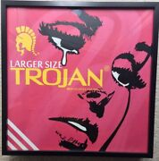Ben Frost Wooden Box Trojan Condom Large Edition Of 10 Very Rare Framed