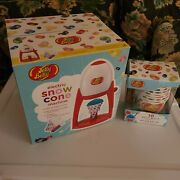 Jelly Belly Electric Snow Cone Machine And Extra Cups And Spoons