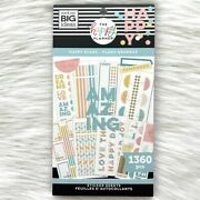 Me And My Big Ideas The Happy Planner Happy Plans Sticker Book 1360 Pcs New Mambi