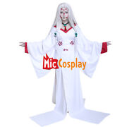 Rui Mother Spider Demon Cosplay Costume Kimono With Necklace+ Hair Accessories