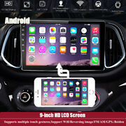 9 Android Hd Lcd Touch Screen 4core Car Stereo Radio Gps Mp5 Player 2+32g Wifi