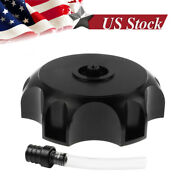 Cnc Gas Fuel Tank Cap Vent Air Valve Breather Tube Pit Pipe Atv Motorcycle Tube