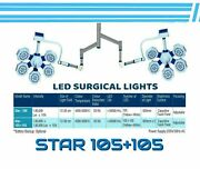 105+105 Surgical Operating Double Satellite Ceiling Light Operation Theater Led