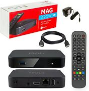 Mag 420 W1 Mag 420w1 4k Built-in Wifi And Hdmi Cable The Evolution Of Mag 322