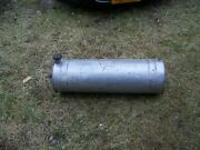 Vintage 1950and039s Antique Parker Gas Fuel Tank With Brackets Hot Rod Gasser.