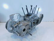 Harley Davidson Sportster 883 And 1200 Silver Crankcase Cases Engine Block
