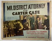 Mr District Attorney In The Carter Case 1941 Original Movie Poster Yeoldeposter
