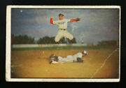 1953 Bowman Color 33 Pee Wee Reese Good To Very Good Best Money Can Buy For 200