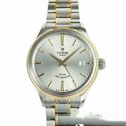 Tudor Style 12503 Date Silver Dial Automatic Menand039s Watch Near Mint Ex++