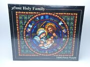 New Vermont Holy Family Christmas Company 1000 Piece Jigsaw Puzzle Sealed