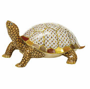 Herend Hungary Porcelain Box Turtle 16089vhsp130 Fishnet New Limited Edition