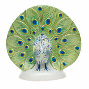 Herend Hungary Porcelain Peacock Big 05081vhcdgm2 Fishnet New Limited Edit