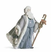 Lladro Santa Claus Messenger Retired Limited Edition Christmas 01001904 New 1904