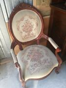 Antique Pair Victorian Chairs Excellent Looking