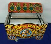Coin Circus By Sammy Bonus Wagon W Motor Assembly Arcade Part Working