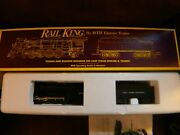 Mth - Rail King - O Scale - Nyc Mohawk Steam Eng.and Tender 3000  Mt-1101